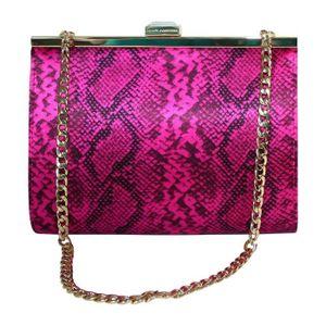 acd002f659 Sac à main femme - pochette Juicy Couture Rose Rose - Achat / Vente ...