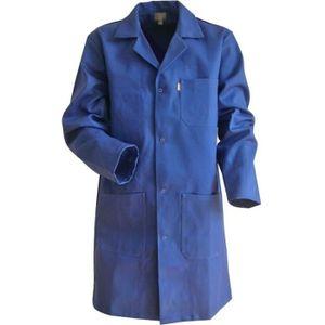 blouse bleu de travail achat vente pas cher. Black Bedroom Furniture Sets. Home Design Ideas
