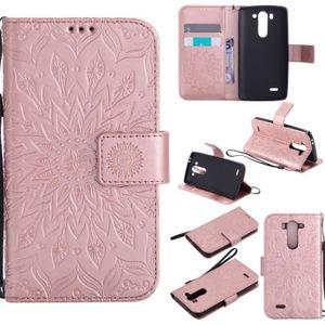 ... Case Cover Skin Source · HOUSSE TUI Pour LG G3 mini tui rabat Or tournesol PU Cuir