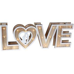 DÉCORATION DE TABLE Centre de table mariage lumineux love (x1) REF/635