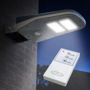 LAMPION Lampadaire Solaire à LED lampe poteaux d' extérieu