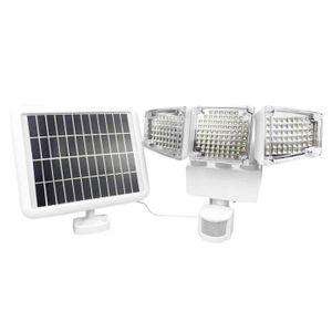 188 Étanche 3 Réglable Extérieure Led 10m Lampe 6w Applique Blanc Solaire Murale 12v Capteur rhdxosQBtC
