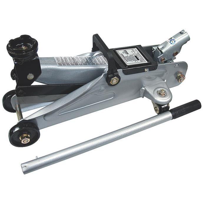 AUTOBEST Cric Hydraulique Roulant 1,5 T Levage de 135 à 340 mm