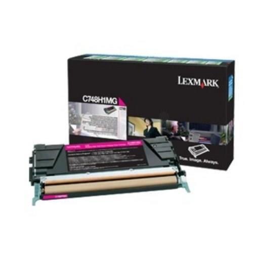 LEXMARK Cartouche de toner  - C748 - 10.000 pages  - Pack de 1 - Magenta