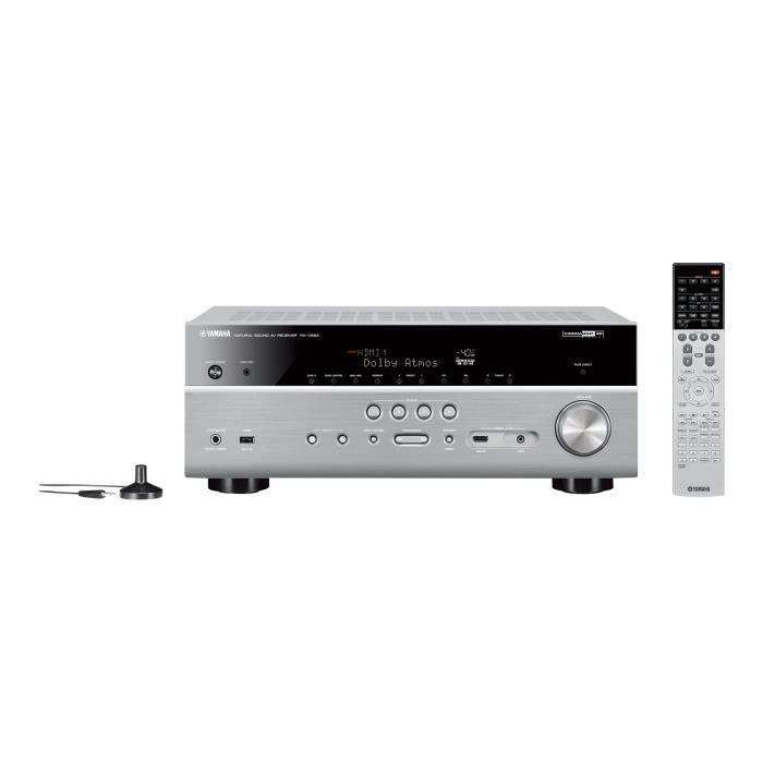 YAMAHA RX-V683 Amplificateur Home cinéma 7.2 - WiFi - Titanium