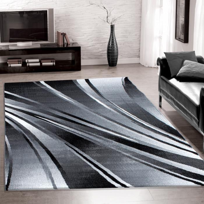 Designer de tapis moderne pour le salon, tapis de vague de vague ...