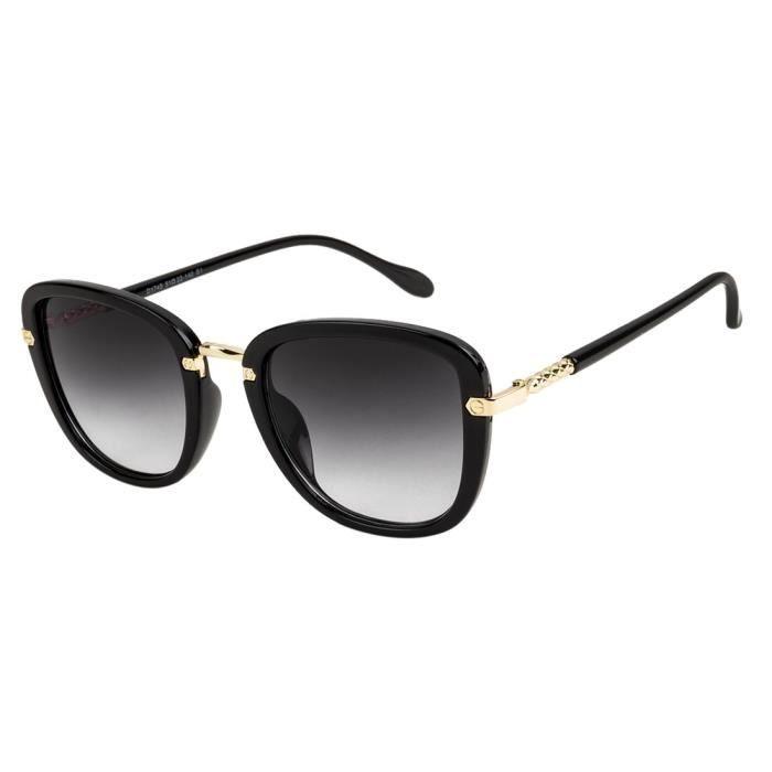 Mary Jane lunettes de soleil carrées dégradées grises par london | soc-fa-d1745-s1 | HXQGI