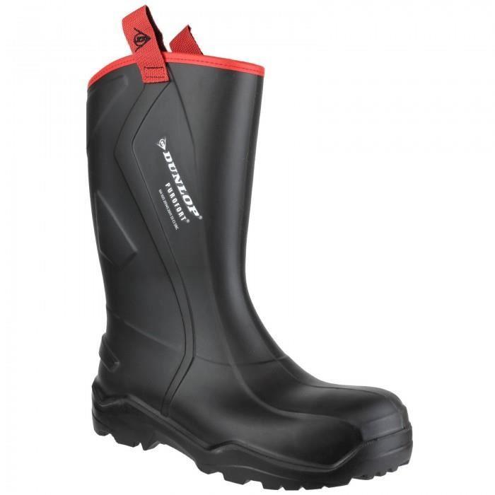 Dunlop Mens Purofort+ Rugged - Bottes de sécurité - Homme