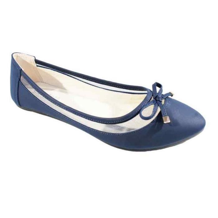 Sandale compensée avec franges à l'avant