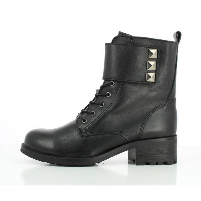 Bottine - Boots - Fricote - MAPOL Noir Noir - Achat   Vente bottine ... dcfbefc0cc6
