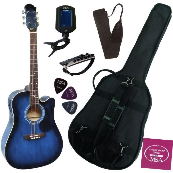 guitare electro acoustique pas cher achat vente guitare electro acoustique black friday le. Black Bedroom Furniture Sets. Home Design Ideas