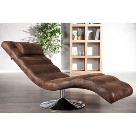 Fauteuil de relaxation Targa cuir vintage Achat Vente fauteuil