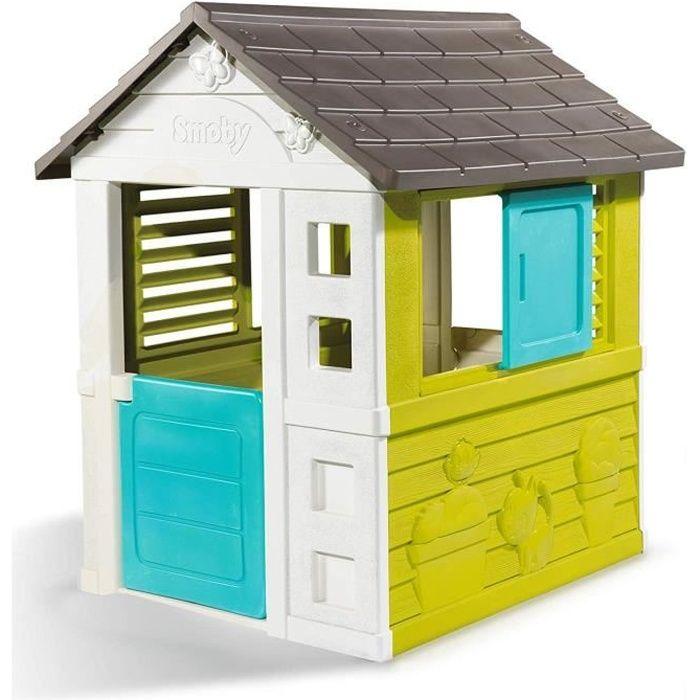 SMOBY - Maison de Jardin Pretty - 2 Fenêtres - Achat / Vente ...