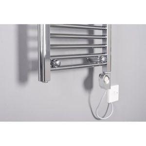 Seche serviettes electrique chrome achat vente seche serviettes electriqu - Thermostat seche serviette electrique ...