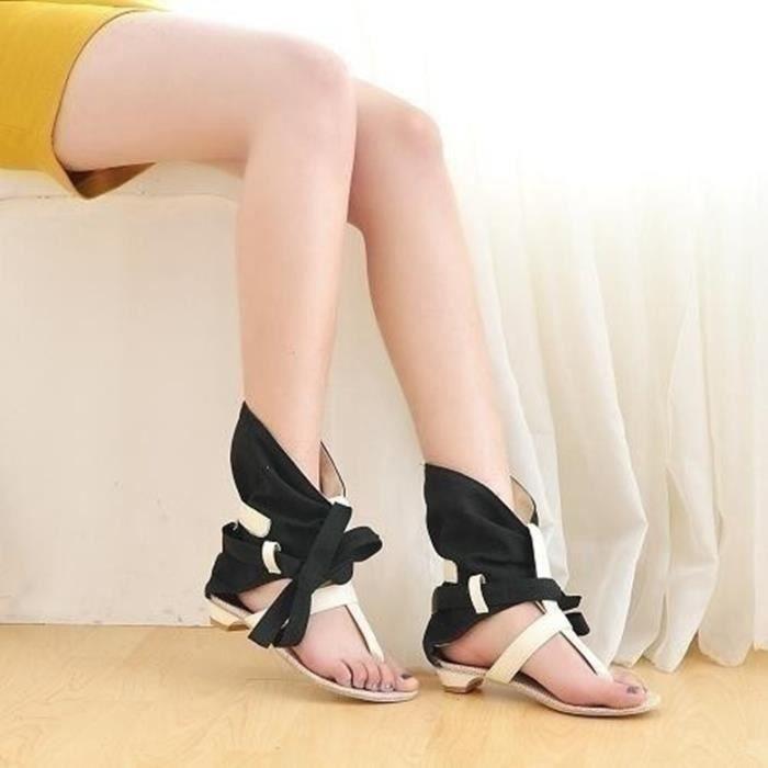 Sandales femme nouvel été bas talon plat