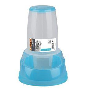 MPETS Distributeur de croquettes FOOD DISPENSER - Pour chien - 2500ml - Bleu