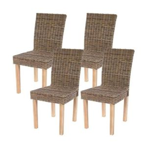 Chaise rotin achat vente chaise rotin pas cher cdiscount - Chaise de salle a manger en rotin ...