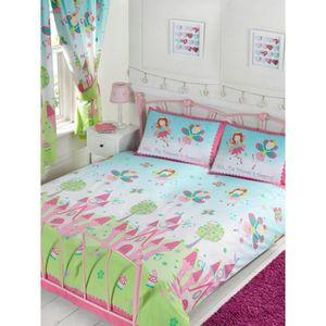 housse de couette 220x240 reine des neiges achat vente housse de couette 220x240 reine des. Black Bedroom Furniture Sets. Home Design Ideas