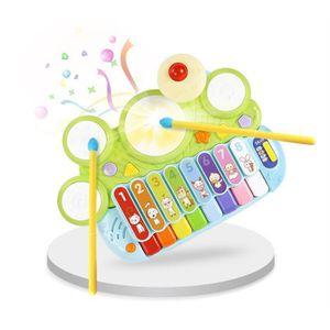 TABLE JOUET D'ACTIVITÉ Clavier bébé jouet 0-1-3 ans puzzle précoce éducat