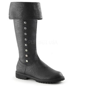 Inch Faux 1 Funtasma Men's w Knee Boot Cuffed Detail 1 120 High GOTHAM 2 Button HRR7tX
