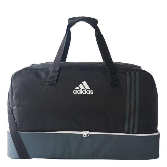 Adidas tiro tb bc sac de sport avec compartiment noir gris l