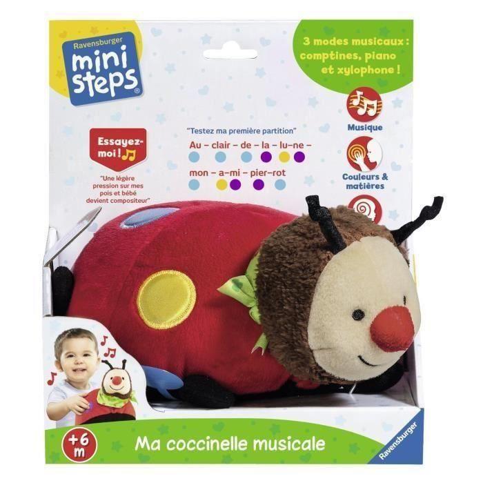 MINI STEPS Ma Coccinelle Musicale Jeu Educatif