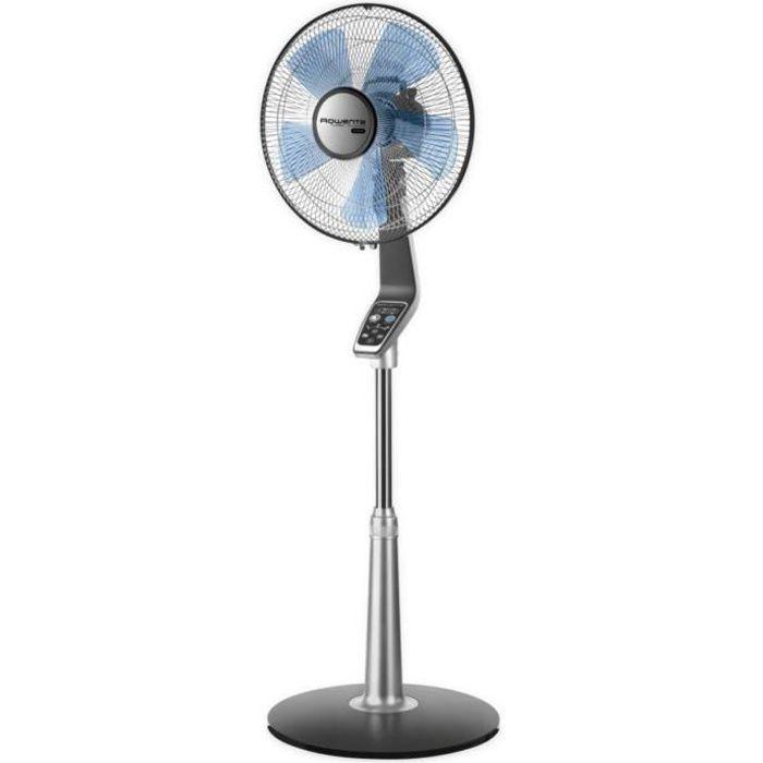 ROWENTA VU5670F0 Ventilateur sur pied Ø 40 cm - 70 watts - 5 vitesses - Turbo Silence Extrême - Débit : 4800 m³/h