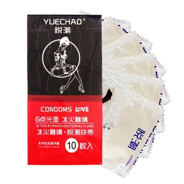 PRÉSERVATIF 10x Latex Contraceptif Mince Latex Préservatifs Se