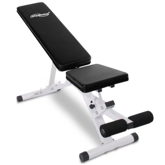 Banc De Musculation Abdominaux Inclinable Sport Fitness Musculation