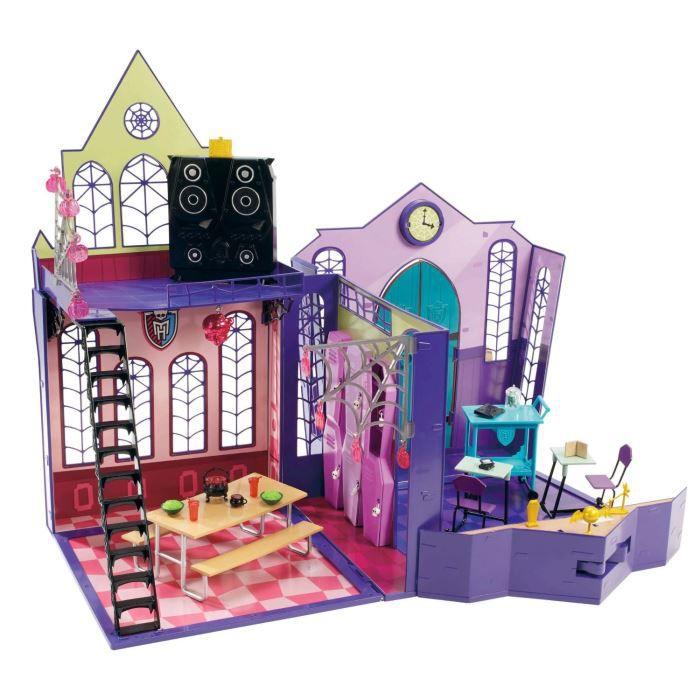 Monster high lyc e monster high achat vente maison for Muebles de monster high