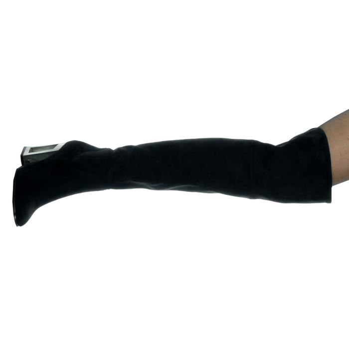BOTTE Angkorly - Chaussure Mode Cuissarde reversible sou