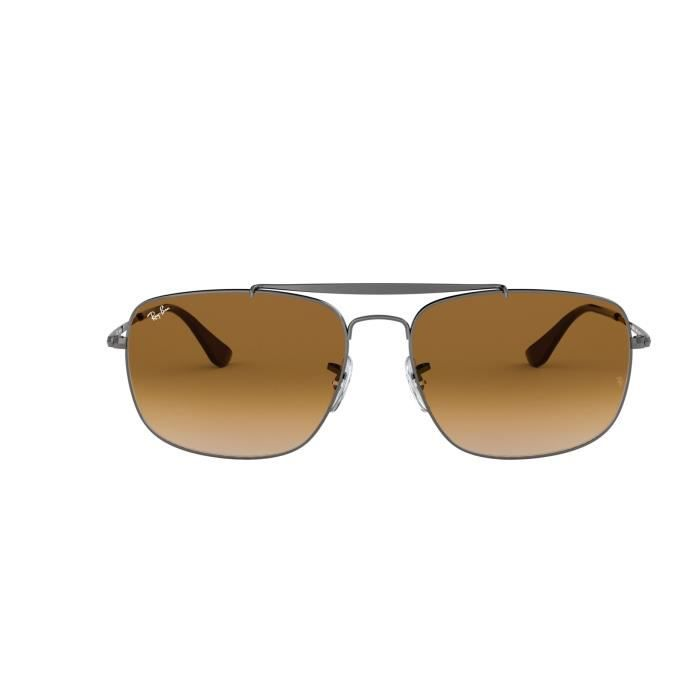 5d53522eee0ae4 Lunettes de soleil Ray Ban RB-3560 The Colonel-004-51 - Achat ...