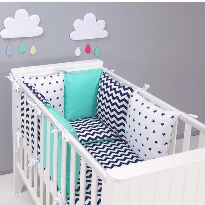 Tour de lit coussins modulable avec parures