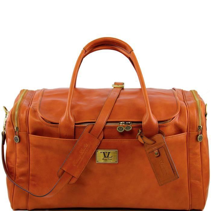 Tuscany Leather - sac de voyage en cuir - Miel IuKvjO