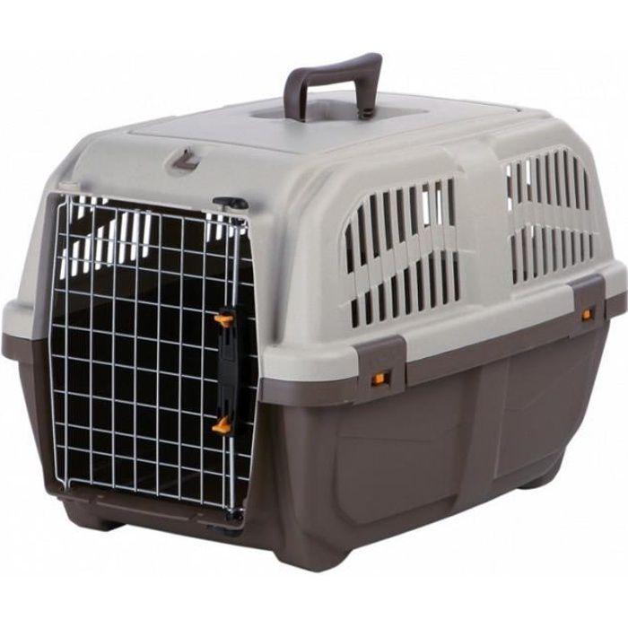 Skudo Cage De Transport Spécial Avion Chien Chat Taille S-m
