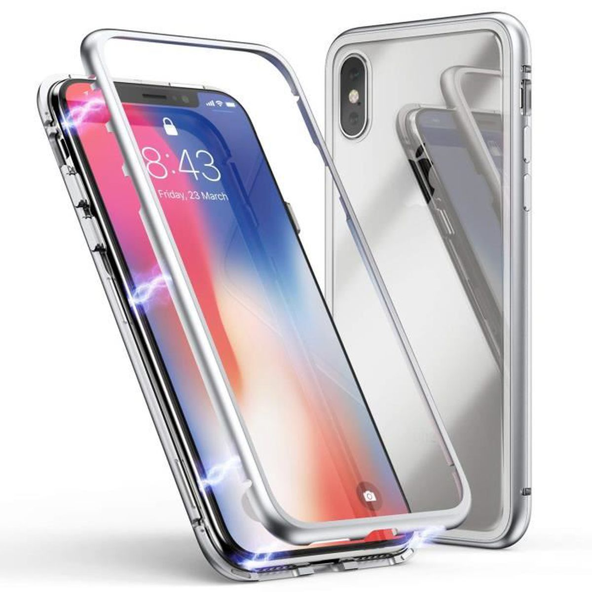 coque avant arriere iphone xr