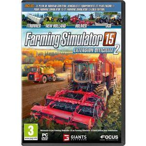 JEU PC Farming Simulator 15 Extension 2 Jeu PC