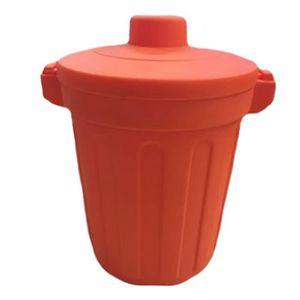 POUBELLE - CORBEILLE Élégant Mini Poubelle Bin poubelle avec couvercle