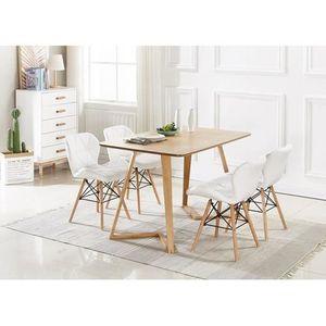 TABLE À MANGER COMPLÈTE Ensemble Table à Manger Cecilia Dallas + 4 Chaises