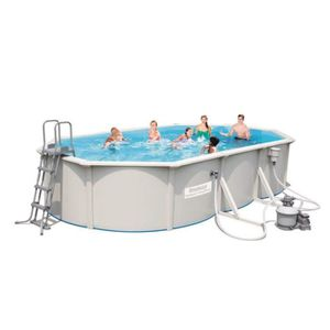 Piscine hors sol bestway achat vente piscine hors sol for Piscine hors sol ovale pas chere