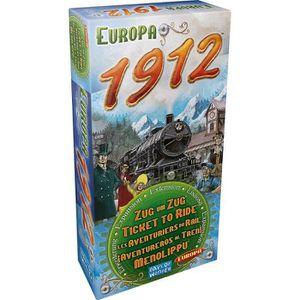 JEU SOCIÉTÉ - PLATEAU Les Aventuriers Du Rail - Extension Europe 1912