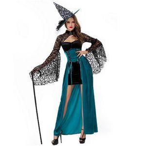 DÉGUISEMENT - PANOPLIE Déguisement de dame médiévale - Vampire Halloween