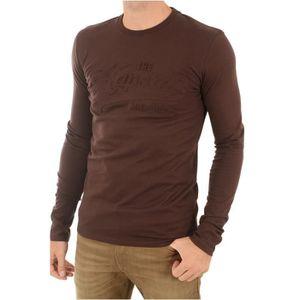 T-SHIRT Tee shirt coton logoté Dock -KAPORAL Rouge Homme