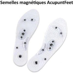 a29f3024985668 SEMELLE DE CHAUSSURE Semelles magnétiques à effet d'acupuncture - réfl