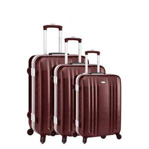 SET DE VALISES Set de 3 valises 4 roues carbon robust elegance ro