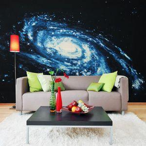 TABLEAU - TOILE TEMPSA Planète Univers Grand Tableau Peinture Fond