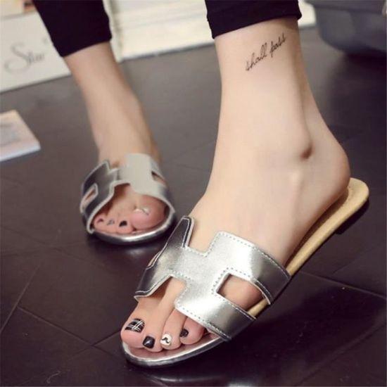 Mode Femmes Sandale Ete Shoes Taille Sandales Femme Nouvelle Luxe De Grande doCQBWrxeE