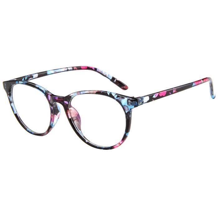 f572a13ba9b EOZY Monture de Lunette de Vue Femme - Achat   Vente lunettes de vue ...
