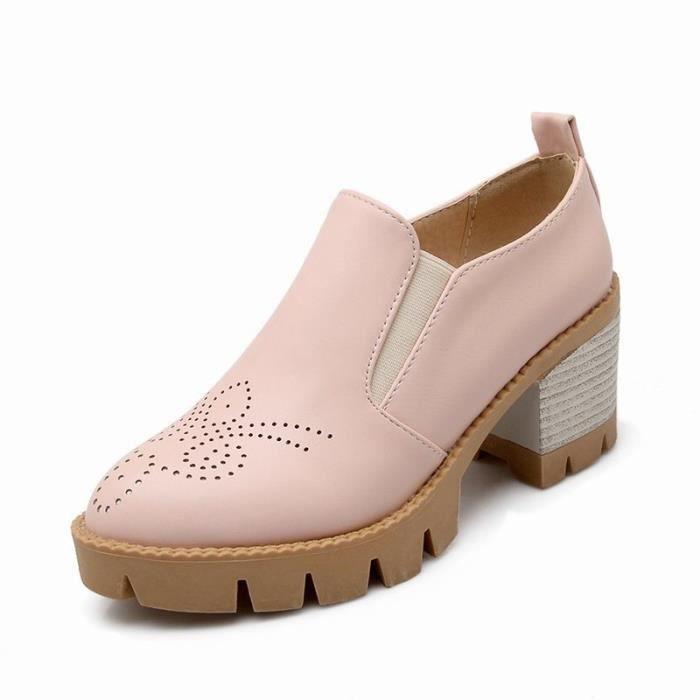 Chaussures Femme élégante En PU Cuir Toutes les pointures de la 35 à la 43 yiKLfZ