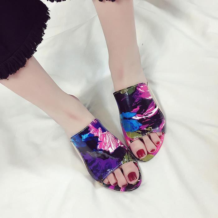 Talons Sandales Strass Parti Pais Tong Rw1647 Mode Flop Chaussures Femmes Pantoufle wqH1xXq5B